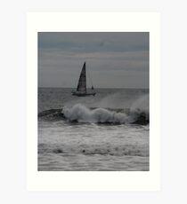Surf and Sail Art Print