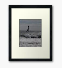 Surf and Sail Framed Print