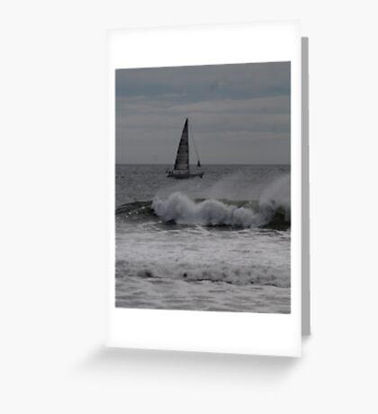 Surf and Sail Greeting Card