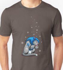 Derpkitty takes a bath Unisex T-Shirt
