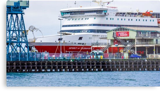 The Spirit of Tasmania I Docked at South Melbourne, Victoria by sjphotocomau