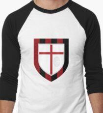 AC Milan Crest Men's Baseball ¾ T-Shirt