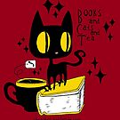 Books and Cats and Tea by Che Gilson