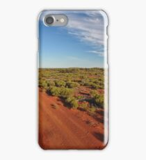 Red Dirt Road - Kilcowera Station iPhone Case/Skin