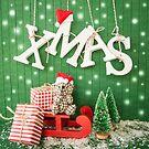 Merry Xmas by Barbara Neveu