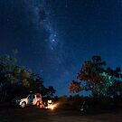 Camping under the Stars - Kilcowera Station by Malcolm Katon