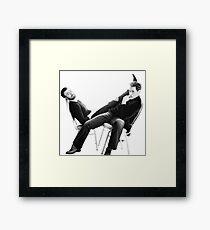 Super husbands Framed Print
