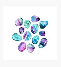 Minty minerales Photographic Print