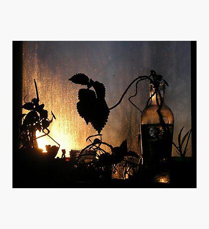 Winter Window Photographic Print