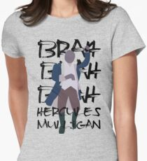 Hercules Mulligan- Hamilton Women's Fitted T-Shirt