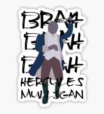 Hercules Mulligan- Hamilton Sticker