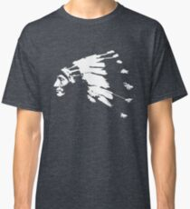 Whirling Horse Sioux Indian Chief Classic T-Shirt