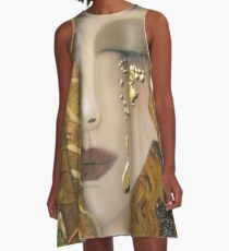 My Klimt Serie:Gold A-Line Dress