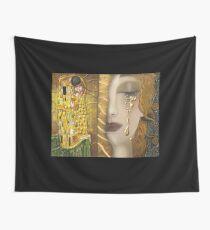 Meine Klimt Serie: Gold Wandbehang