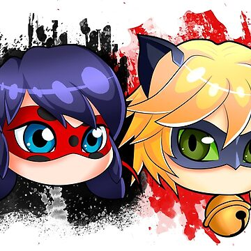 Ladybug and chat noir by Bel-SY-14