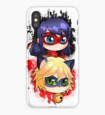 Ladybug And Chat Noir Vertical IPhone Case