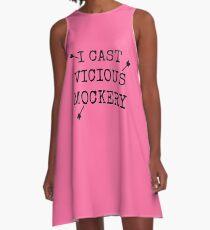 Vicious Mockery A-Line Dress