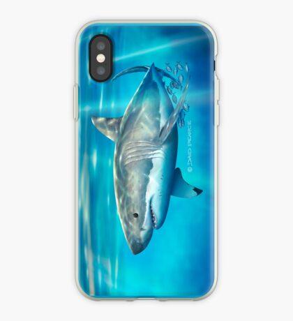 Neptune White iPhone Case