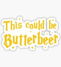 This could be butterbeer Sticker