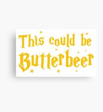This could be butterbeer Canvas Print