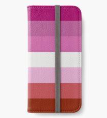 LESBIAN FLAG iPhone Wallet/Case/Skin
