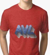 Asheville Mountainside Tri-blend T-Shirt