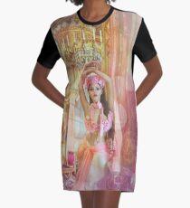 Pink Princess Graphic T-Shirt Dress