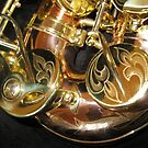 Engravings on Monarch Windsor Saxophone von BlueMoonRose