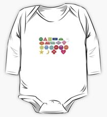 What Shape Is It? - Geometric Shapes - The Kids' Picture Show One Piece - Long Sleeve