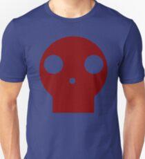 Red Skull Cartoon Unisex T-Shirt