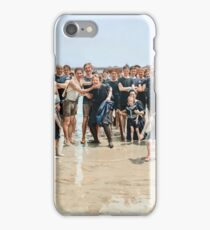 Smile for the camera!! Atlantic City, 1905 iPhone Case/Skin