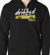 Drifted 180sx Tee - Yellowbird Edition by Drifted Zipped Hoodie