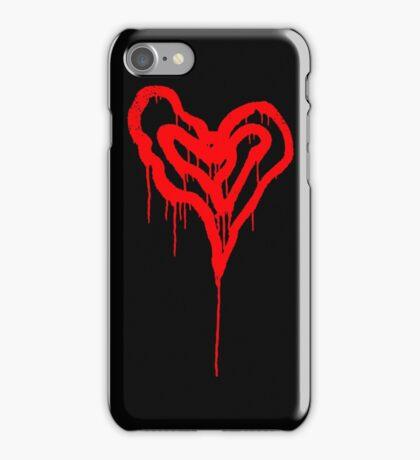 Twin Bleeding Hearts iPhone Case/Skin