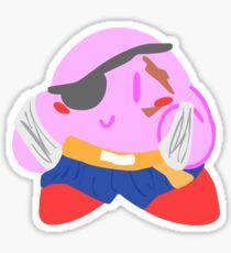 Street Fighter Sagat Kirby Sticker
