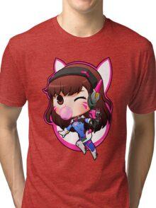 Overwatch D.Va Chibi Tri-blend T-Shirt