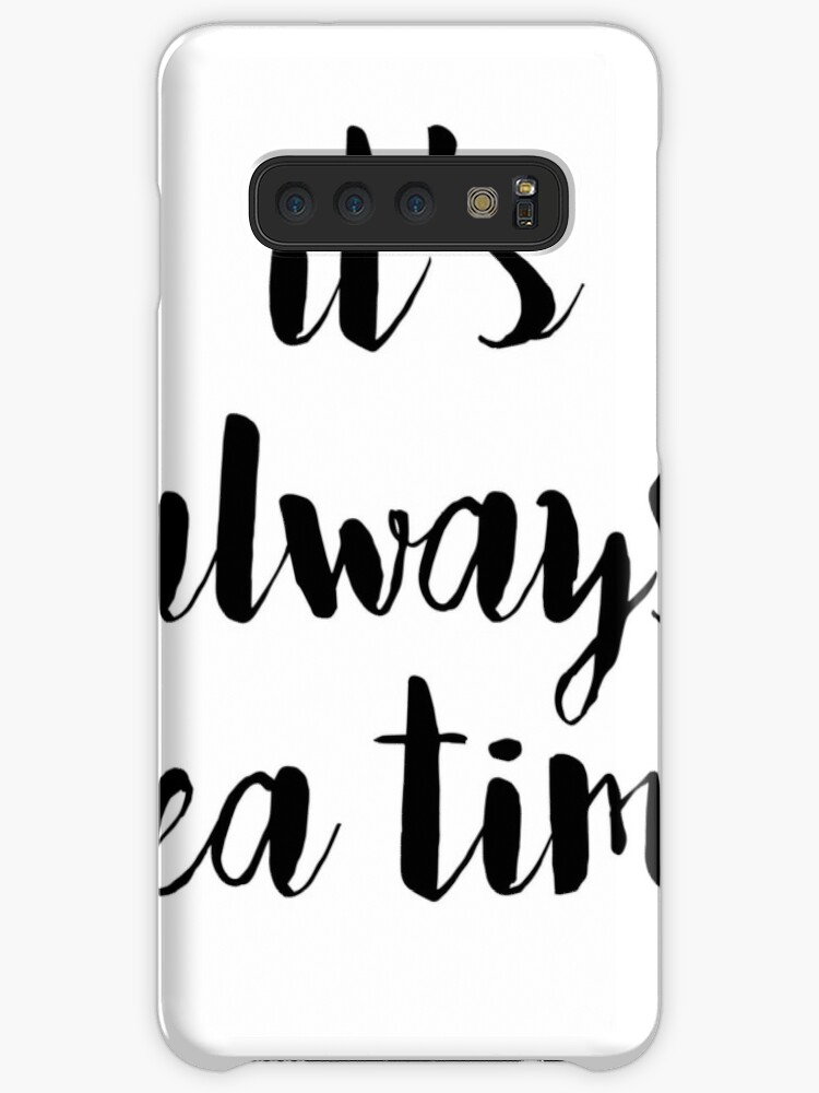 Calligraphy Hand Written Phrases About Tea Caseskin For Samsung Galaxy By Alexrow