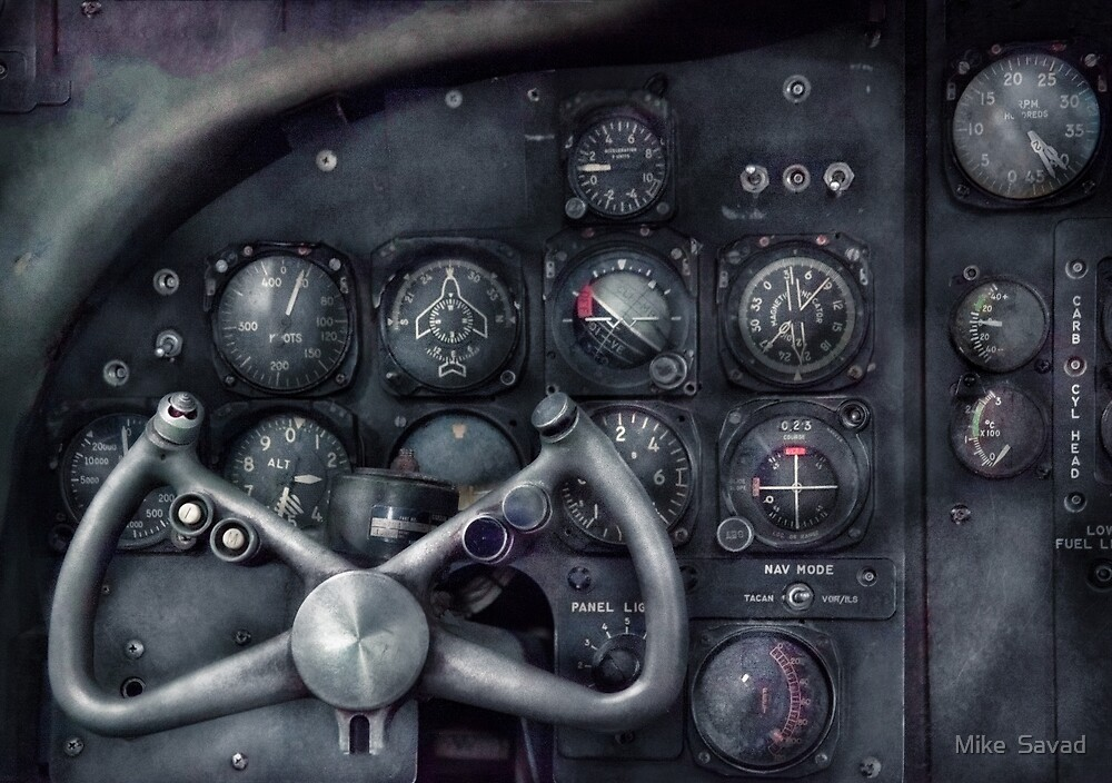 Air - The Cockpit by Mike  Savad