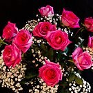 Pink Roses With All My Love by Bo Insogna