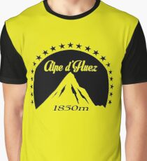 Alpe d'Huez (Black) Graphic T-Shirt