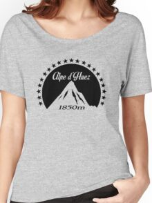 Alpe d'Huez (Black) Women's Relaxed Fit T-Shirt