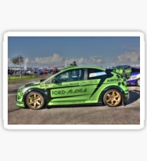 Green RS in HDR Sticker