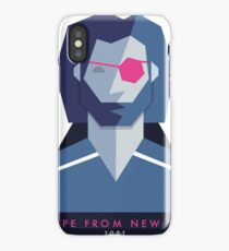 Escape from New York (1981) 80s Sticker iPhone Case