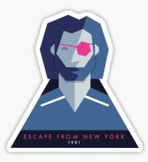 Escape from New York (1981) 80s Sticker Sticker