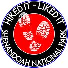 HIKING SHENANDOAH NATIONAL PARK VIRGINIA HIKED IT LIKED IT HIKE by MyHandmadeSigns