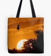 Everglades Sunset Tote Bag