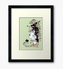 Woman King Framed Print