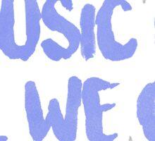 """All We Got"" Chance the Rapper Lyric Sticker"
