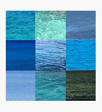 Ocean Blues Photographic Print