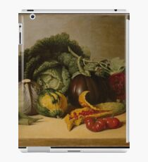 Still Life Balsam Apple and Vegetables iPad Case/Skin
