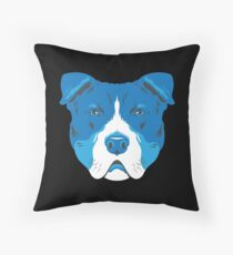 American Pit Bull Terrier Throw Pillow
